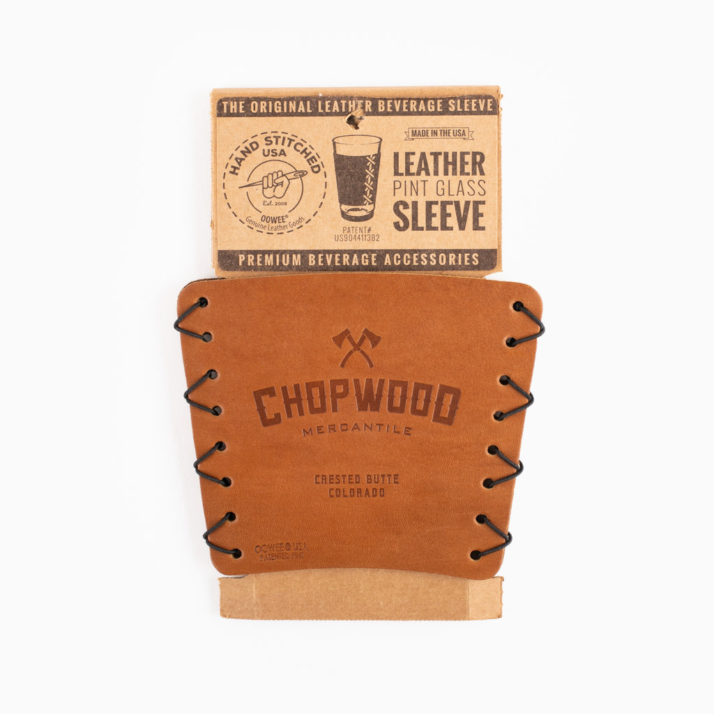 Chopwood Chopwood Leather Pint Sleeve