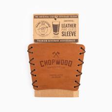 Chopwood Leather Pint Sleeve