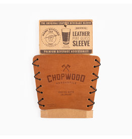 Chopwood Leather Pint Sleeve