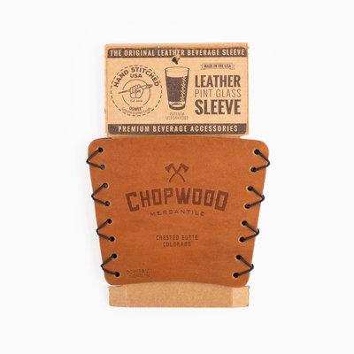 Chopwood Chopwood Leather Pint Sleeve