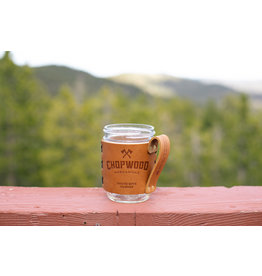 Chopwood Leather Mason Jar Sleeve