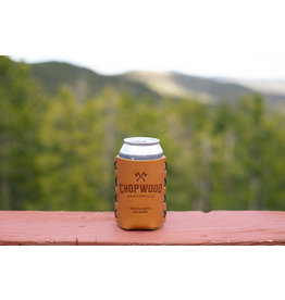 Chopwood Leather Can Sleeve