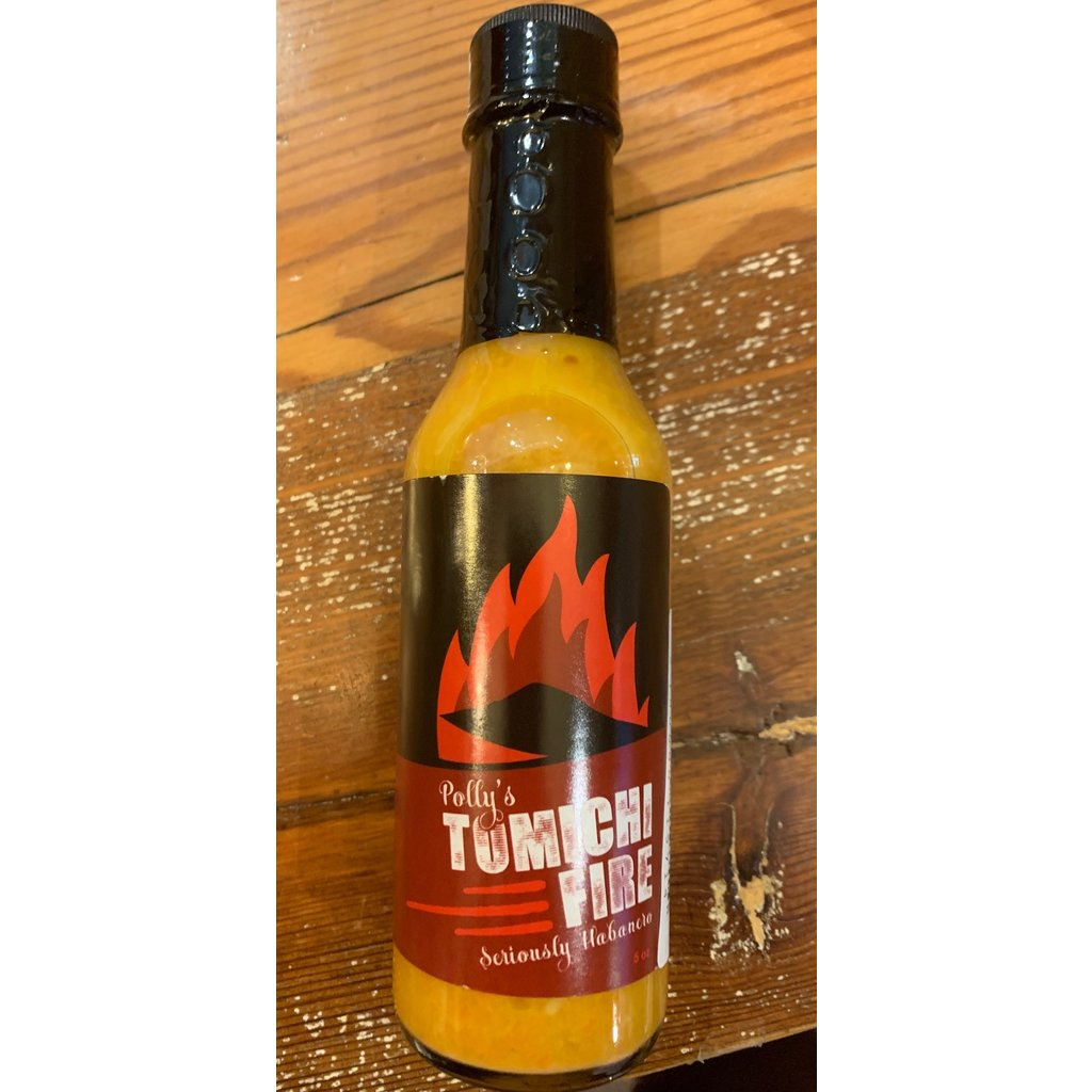 Polly Tomichi Fire Hot Sauce