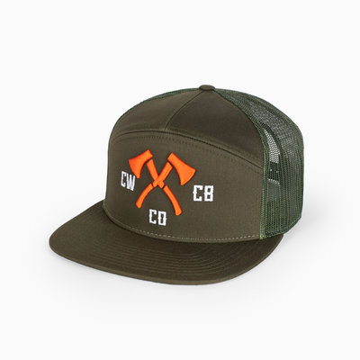 Chopwood CW Embroidered Hat 7 Panel