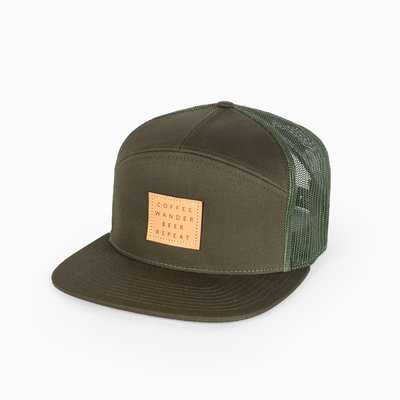 Chopwood CW Coffee Wander Beer Repeat Trucker