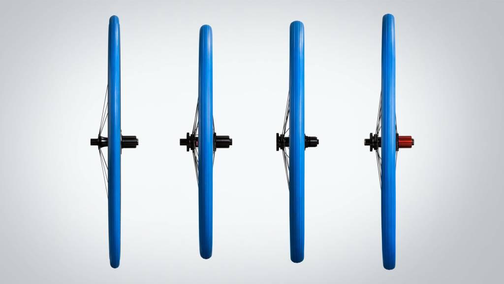 Tacx Tacx, Trainer, 700x23C, Pliable, 60TPI, 80PSI, Bleu