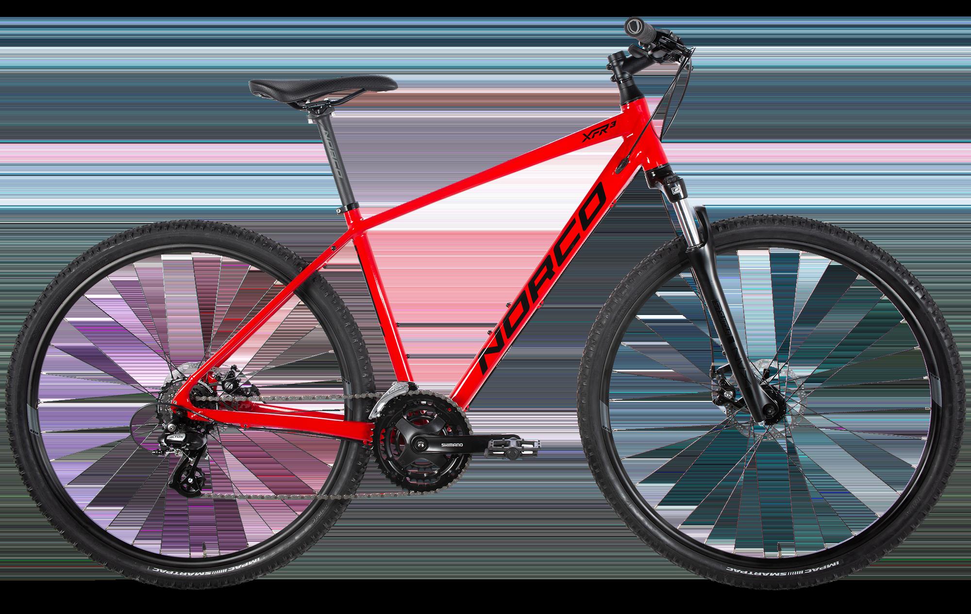Norco XFR 3 Rouge Medium