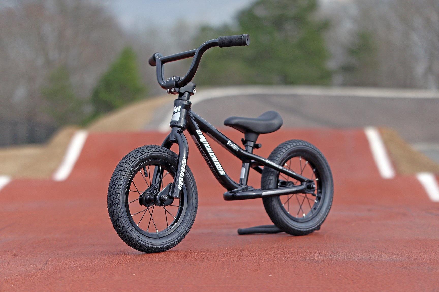 Supercross BMX Balance Bike Black