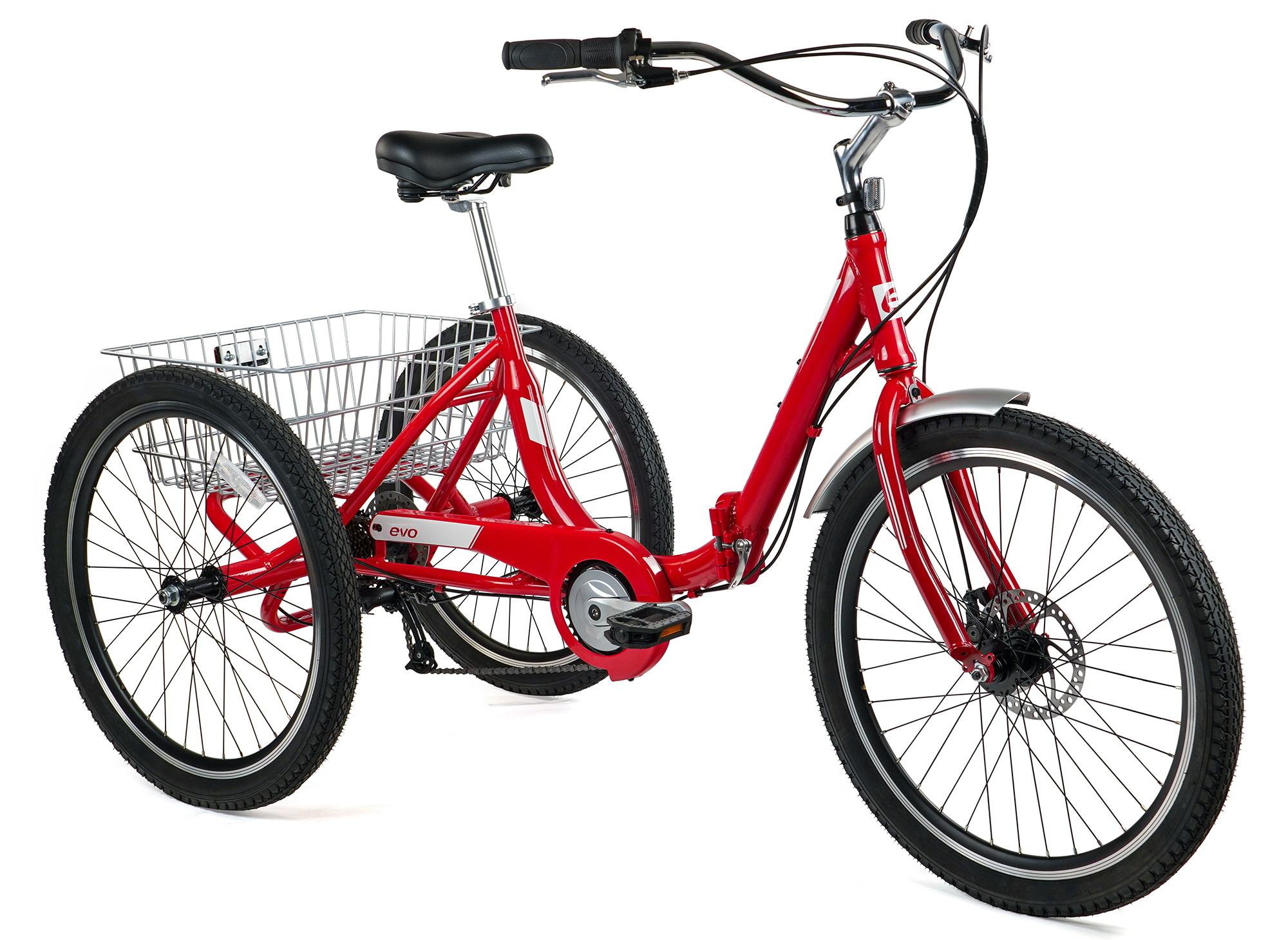 Evo Tricycle Latitude AL8 rouge