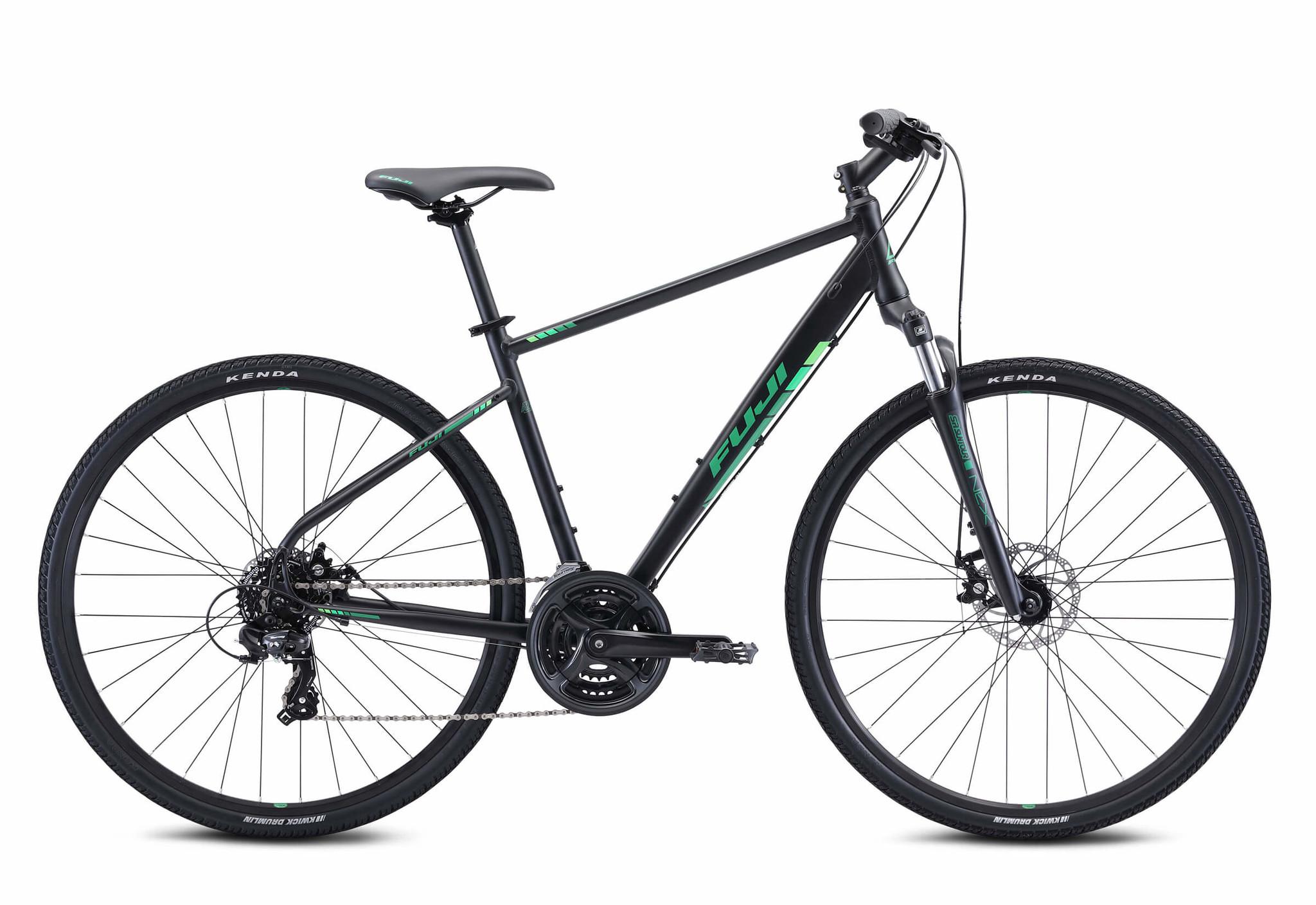 Fuji Traverse 1.7 black/green 19''