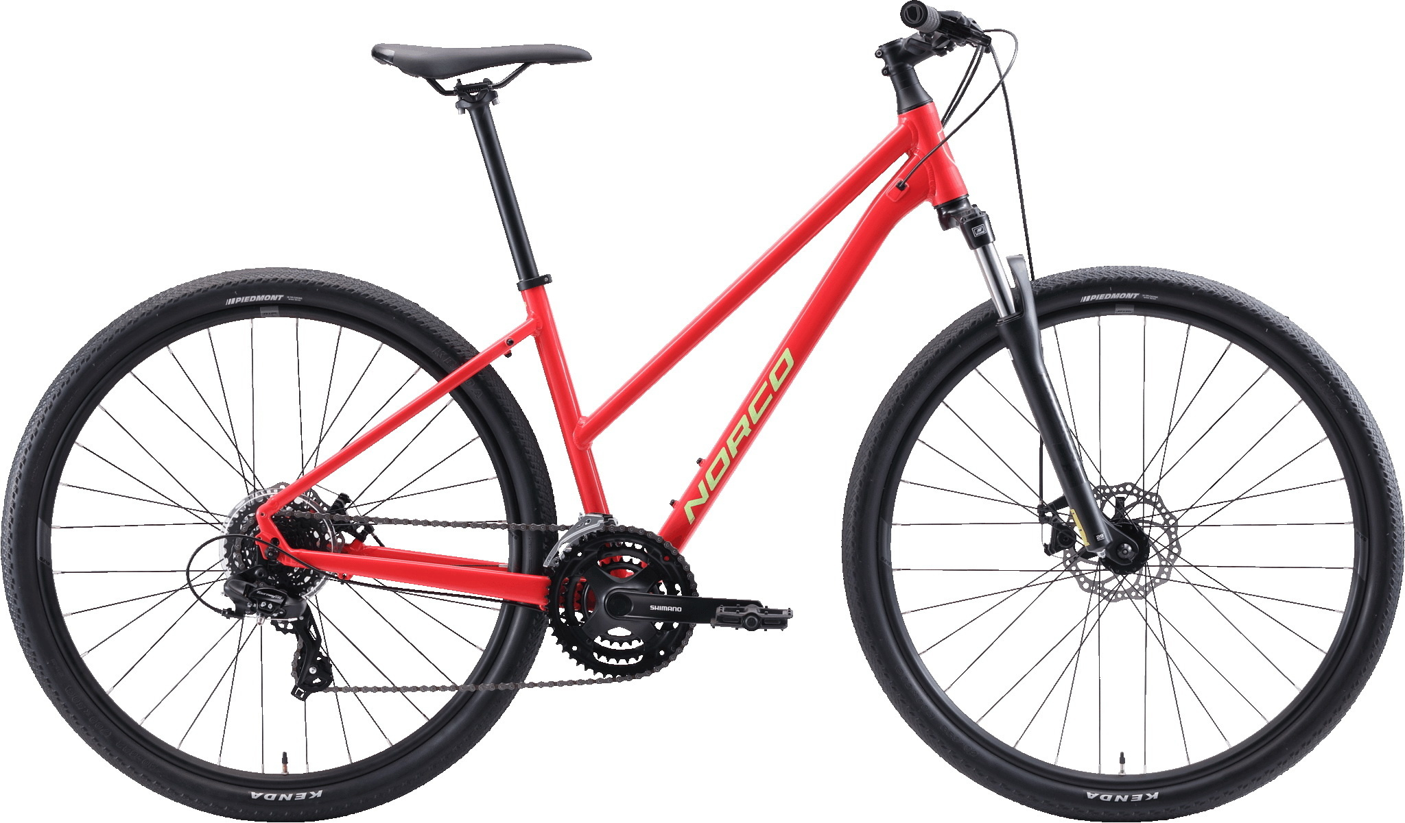Norco XFR 3 ST Rouge/vert Small