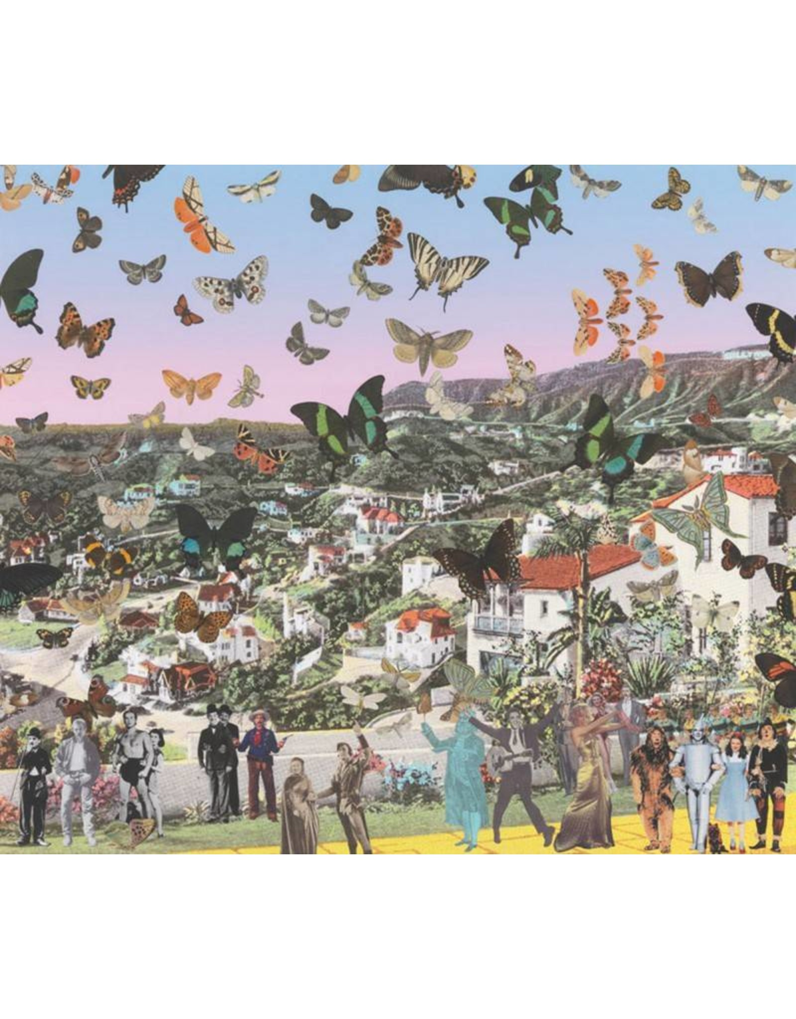 Butterfly Man in Hollywoodland