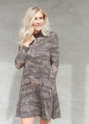 Mud Pie Topher Turtleneck Dress
