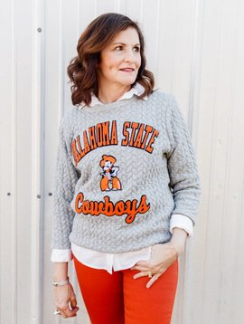 Flying Colors The Jenny State Sweater