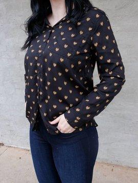BeachLunchLounge Alanna Button Up Shirt