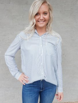 BeachLunchLounge Caroline Button Up  Top