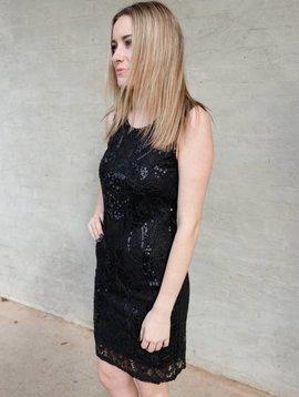 Molly Bracken Embellished S/Less Dress