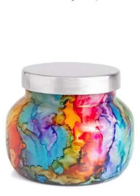 Capri Blue 19 oz Rainbow Signature Jar - Volcano