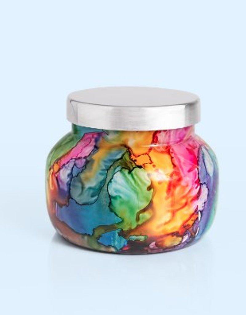 Capri Blue 8 oz Rainbow Petite Jar - Volcano