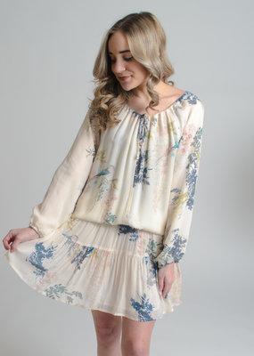 Dylan by True Grit Lovebird Smock Dress