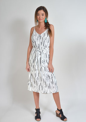 Buffalo Trading Co. Pixie Print Midi