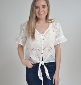 Buffalo Trading Co. Brooks Crop Top
