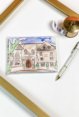 Over the Moon Alpha Chi Omega Notecard Set