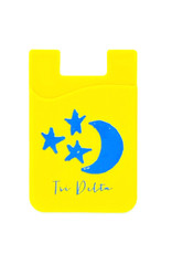 Over the Moon Delta Delta Delta Cell Phone Pouch
