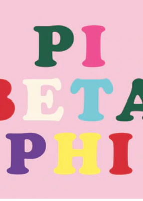 Over the Moon Pi Beta Phi Flag