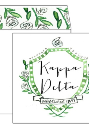 Over the Moon Kappa Delta Square Card