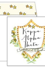 Over the Moon Kappa Alpha Theta Square Card