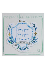 Over the Moon Kappa Kappa Gamma Decal Motif