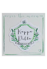 Over the Moon Kappa Delta Decal Motif