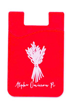 Over the Moon Alpha Omicron Pi Cell Phone Pouch