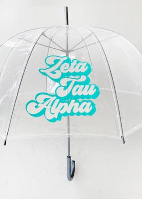 Over the Moon Zeta Tau Alpha Dome Umbrella