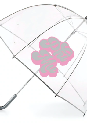 Over the Moon Phi Mu Dome Umbrella