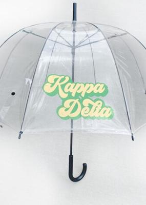 Over the Moon Kappa Delta Dome Umbrella