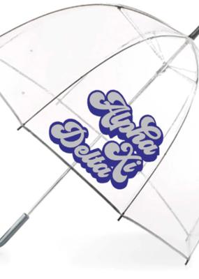 Over the Moon Alpha Xi Delta Dome Umbrella