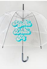 Over the Moon Alpha Delta Pi Dome Umbrella