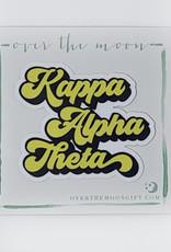 Kappa Alpha Theta Retro Decal