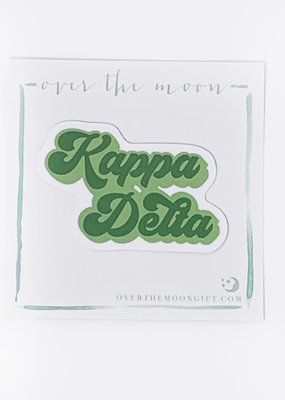 Kappa Delta Retro Decal