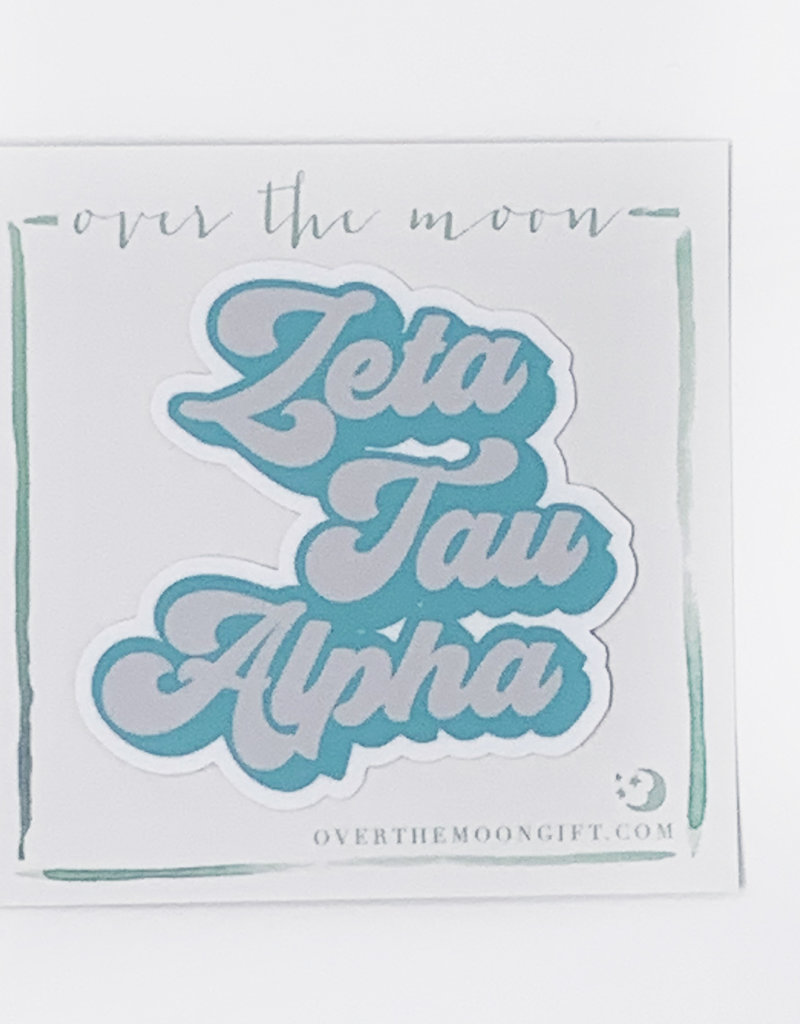 Zeta Tau Alpha Retro Decal