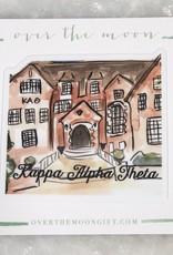 Kappa Alpha Theta House Decal