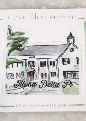 Alpha Delta Pi House Decal