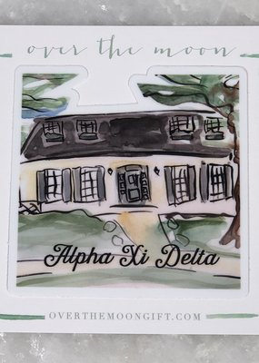 Alpha Xi Delta House Decal