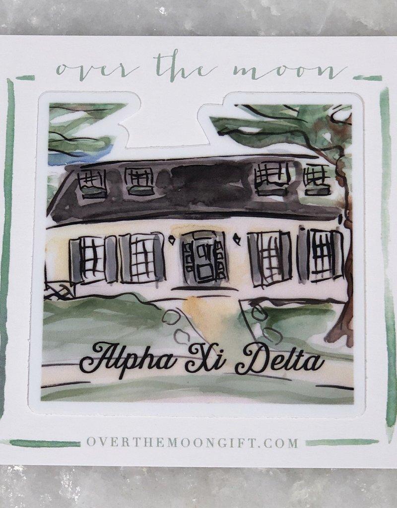 Alpha Xi Delta House Decal