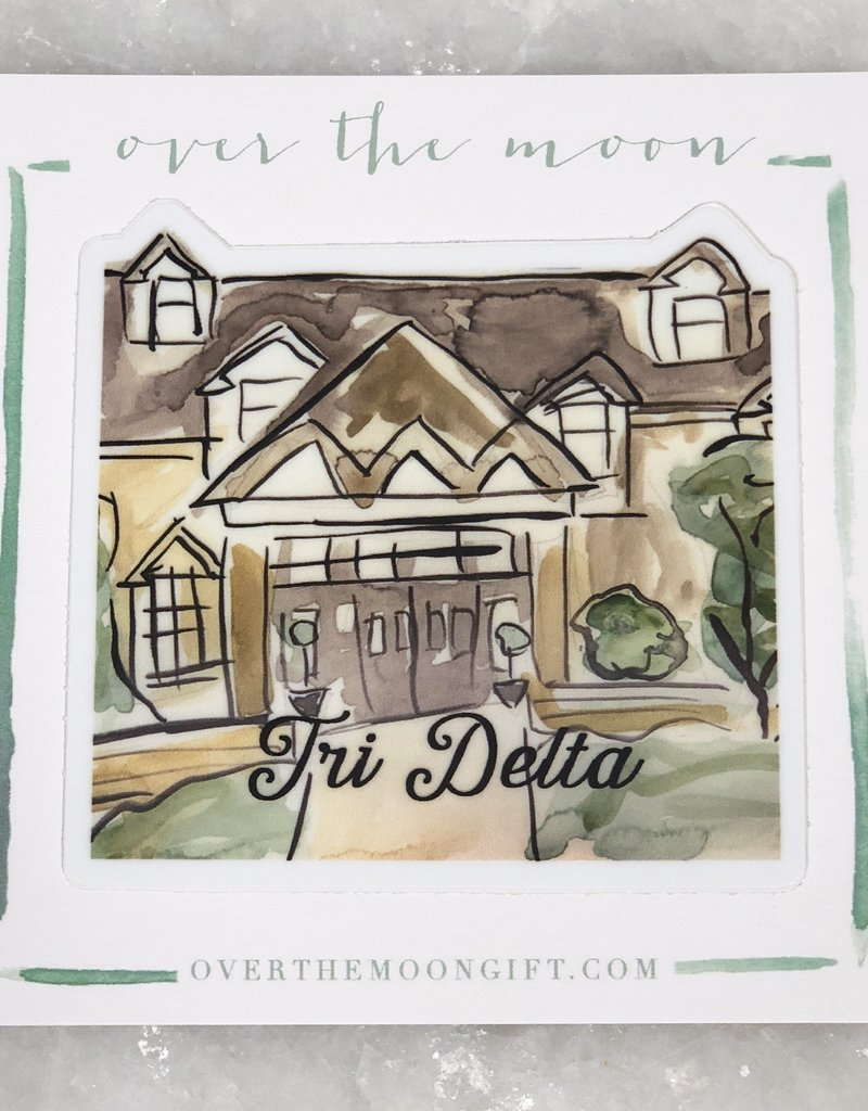 Delta Delta Delta House Decal