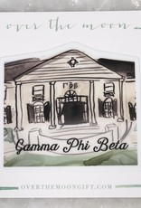 Gamma Phi Beta House Decal