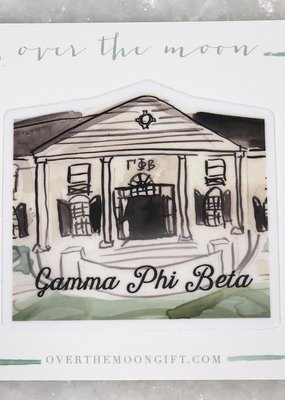 Gamma Phi Beta House Decal