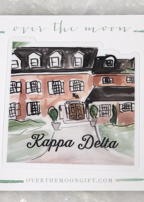 Kappa Delta House Decal